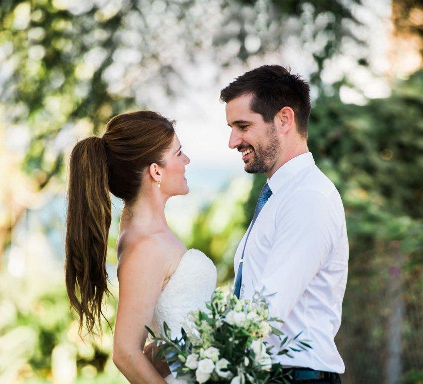 ΚΩΝΣΤΑΝΤΙΝΟΣ & ΗΡΩ<br> Αύγουστος 19, 2017<br>Καλοκαιρινός γάμος στο κτήμα Παναγιωτόπουλου