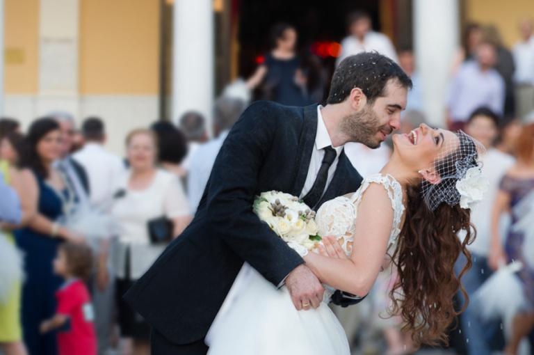 ΣΠΥΡΟΣ & ΚΩΝΣΤΑΝΤΙΝΑ <br> Ιούλιος 11, 2015<br> Καλοκαιρινός γάμος στον Αγ. Ελευθέριο